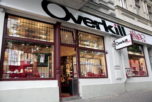 best sneakers e2c3b 7cb35 Overkill Sneaker Shop / Berlin / Germany