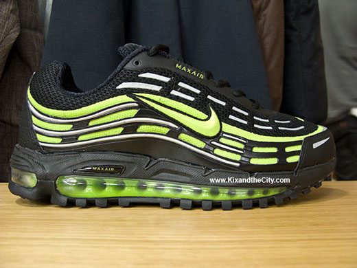 on sale dd3e3 7df38 Nike Air Max TL 2.5   Black Citron-Metallic Silver - OG EUKicks Sneaker  Magazine