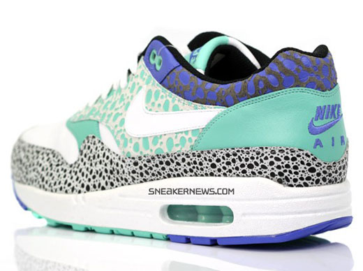 promo code 8db1f ad555 ... low price nike air max 1 premium safari white blue mint spring 2009  release 58a83 84a01