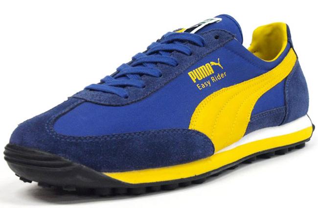 best loved 429d5 744e0 Puma Easy Rider   Blue   Yellow - OG EUKicks Sneaker Magazine