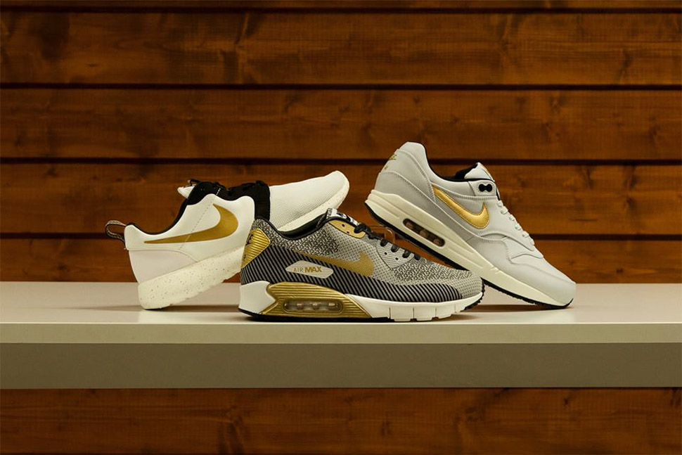 separation shoes cc1d4 3b286 Nike Sportswear Gold Trophy Pack (World Cup) - OG EUKicks Sneaker Magazine