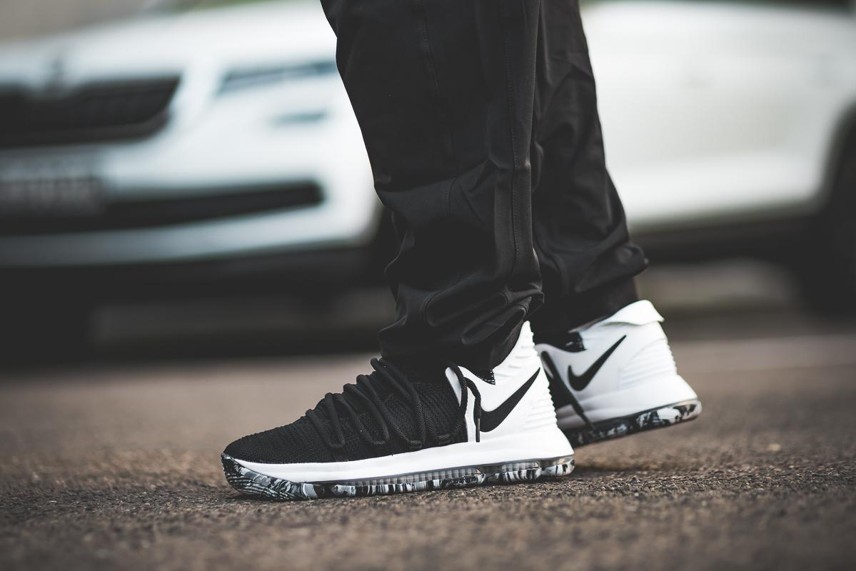 timeless design d2734 2eeb1 On-Foot: Nike Zoom KD 10 in Black/White - OG EUKicks Sneaker ...