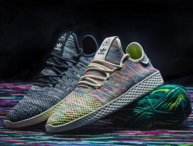 cheaper 847f0 4f614 Pharrell Williams x adidas Tennis HU Primeknit in Two Colorways for March · adidas  EQT Support ...