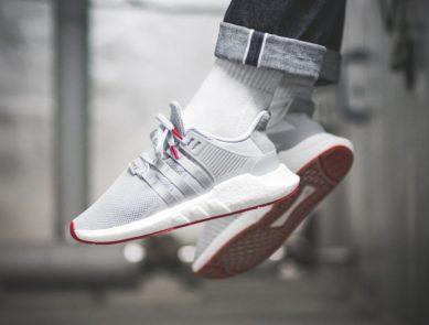 "various colors 1b464 a9f3d On-Foot adidas EQT Support 9317 ""Red Carpet"" Matt Silver"