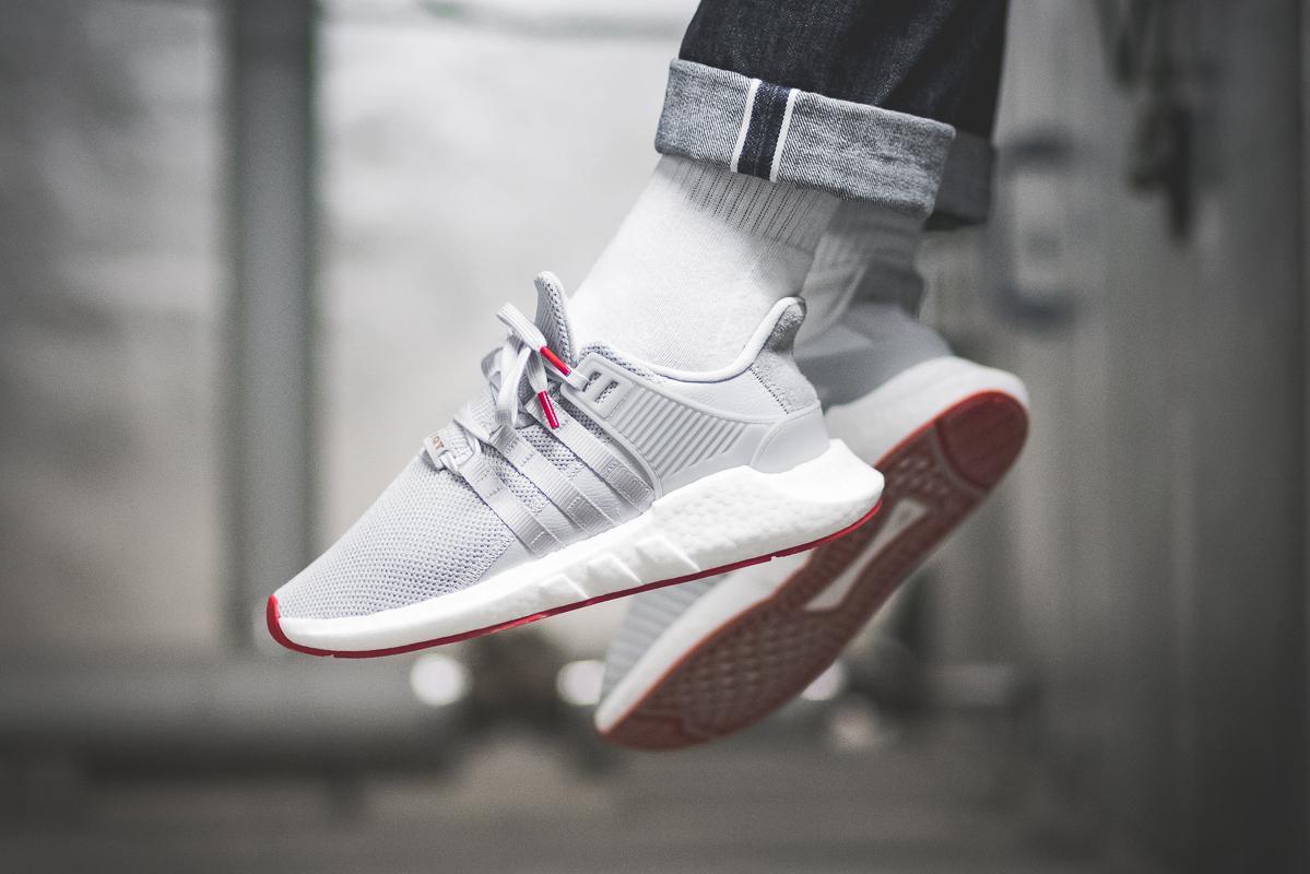 "f7f68568ee0 On-Foot: adidas EQT Support 93/17 ""Red Carpet"" Matt Silver - OG ..."