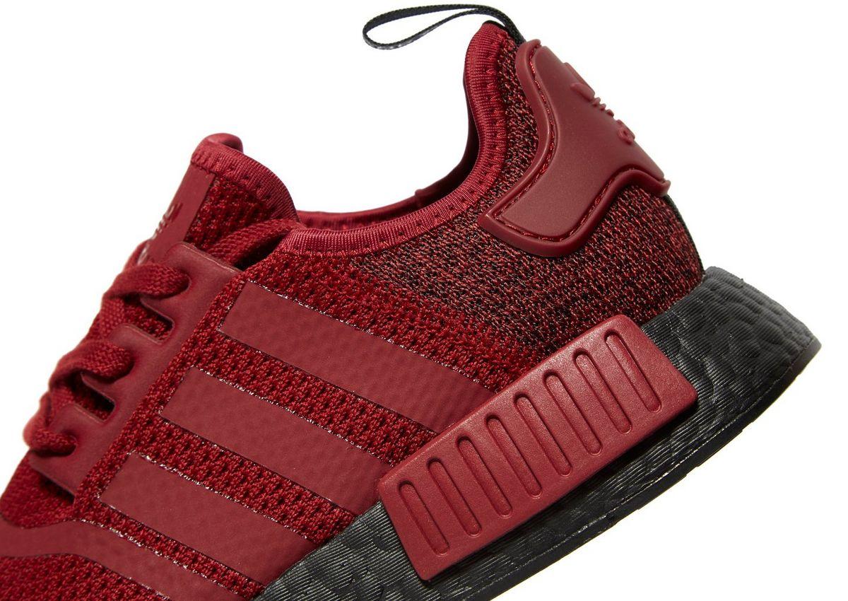 burgundy nmd r1 adidas