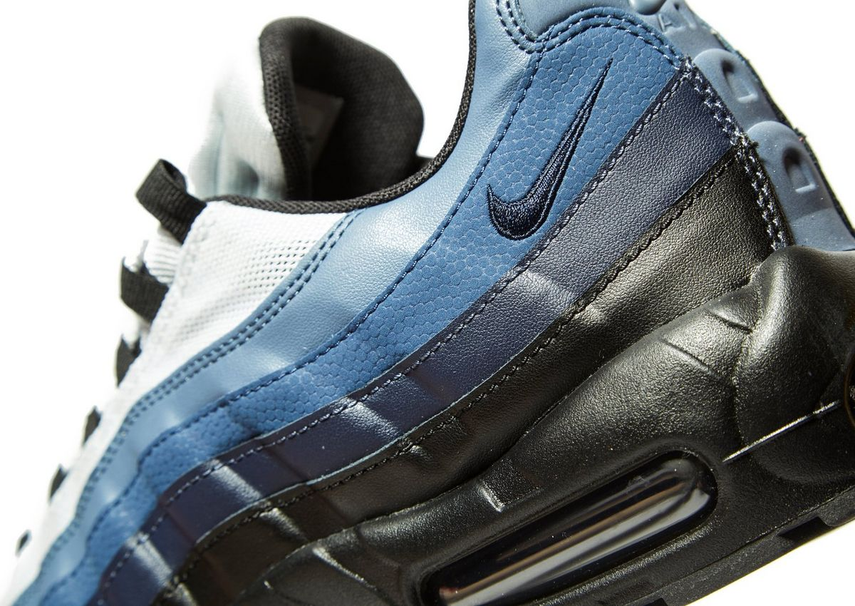 brand new 5ad66 c0df5 Nike Air Max 95 Essential in Blue  Black Exclusive to JD Sports - OG  EUKicks Sneaker Magazine
