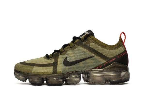 brand new 57043 75054 Nike Air VaporMax 2019 Olive Black